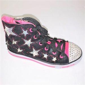 SKECHERS Twinkle Toes High Top Sneakers - Girls